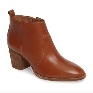 Madewell The Brenner Boot Size 8 English Saddle